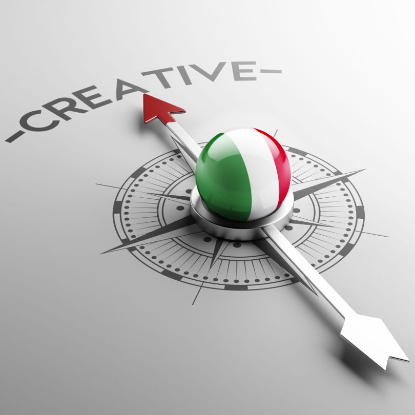 Italy High Resolution Creative Concept